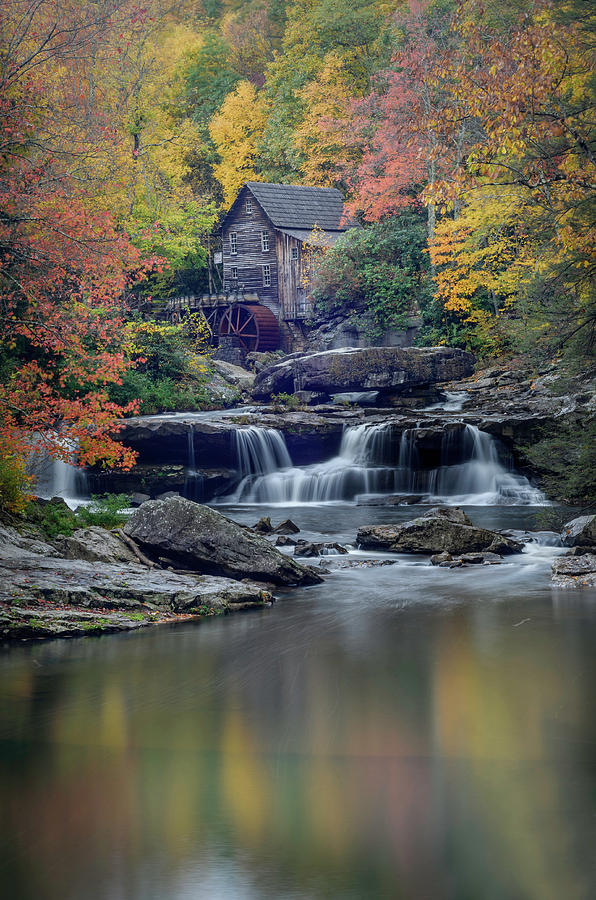 Alexandria Photograph - Babcock Grist Mill 2 by Michael Donahue