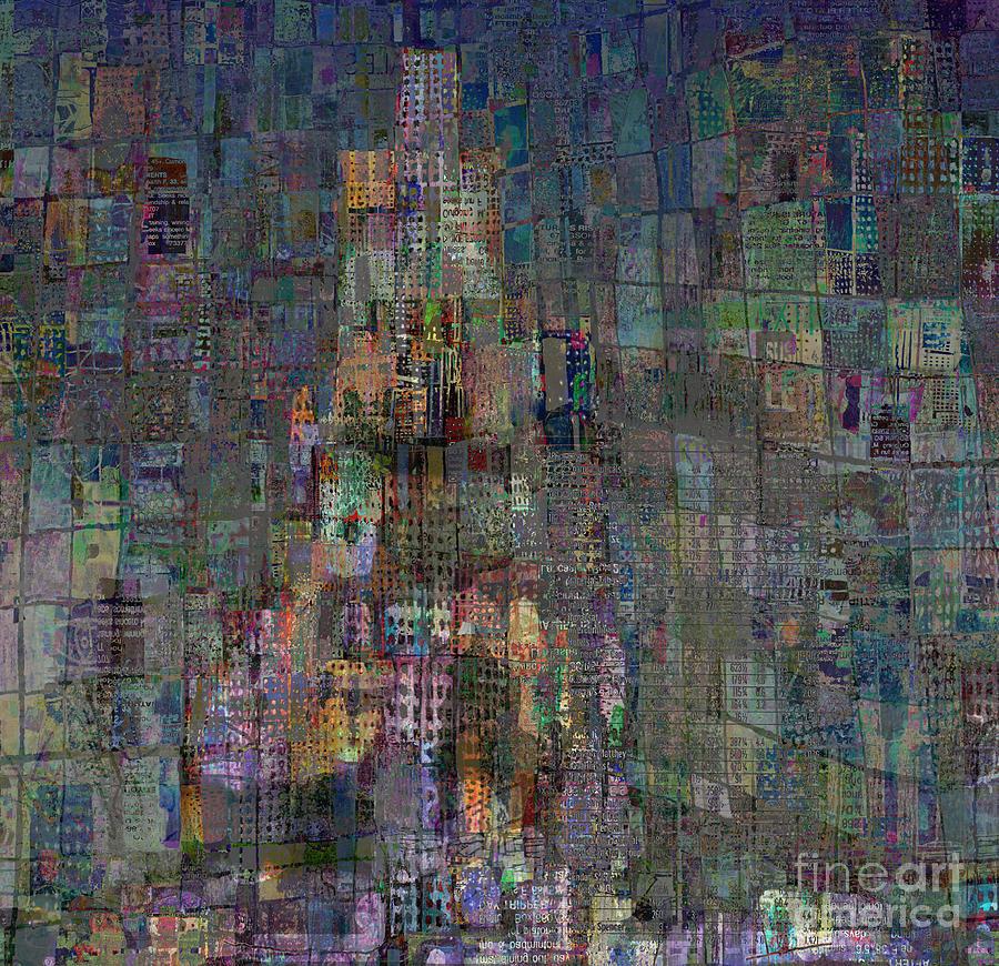 Babel Digital Art - Babel by Andy  Mercer