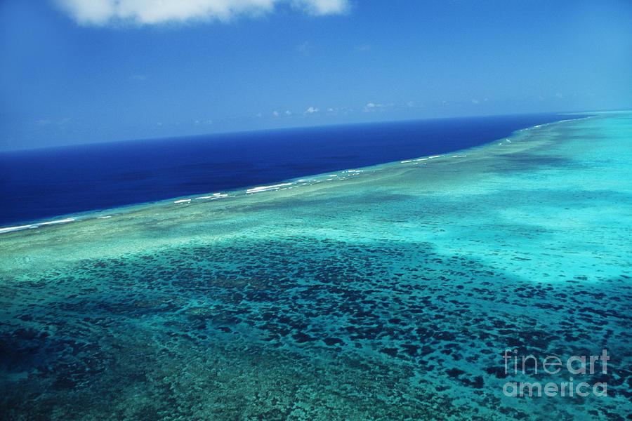 Above Photograph - Babeldoap Islands by Allan Seiden - Printscapes