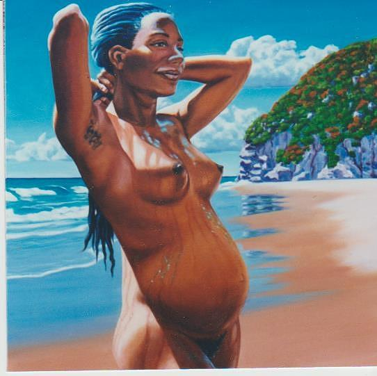 Oil Painting - Baby by Allen Kerns