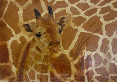 Animals Painting - Baby Animals  Mummy Im Arriving by Francisco Urbano