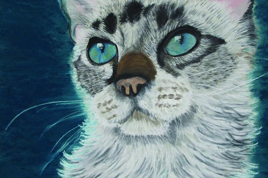 Blue Eyes Pastel - Baby Blue Eyes by Jessica Kale
