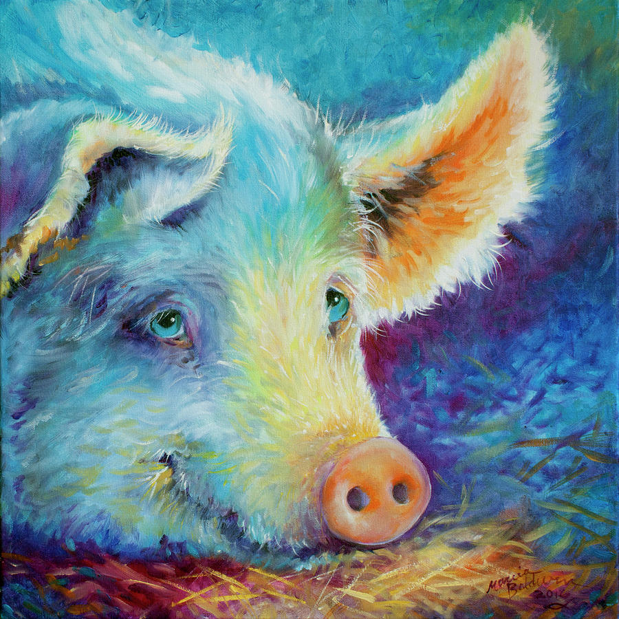 BABY BLUES PIGGY by Marcia Baldwin