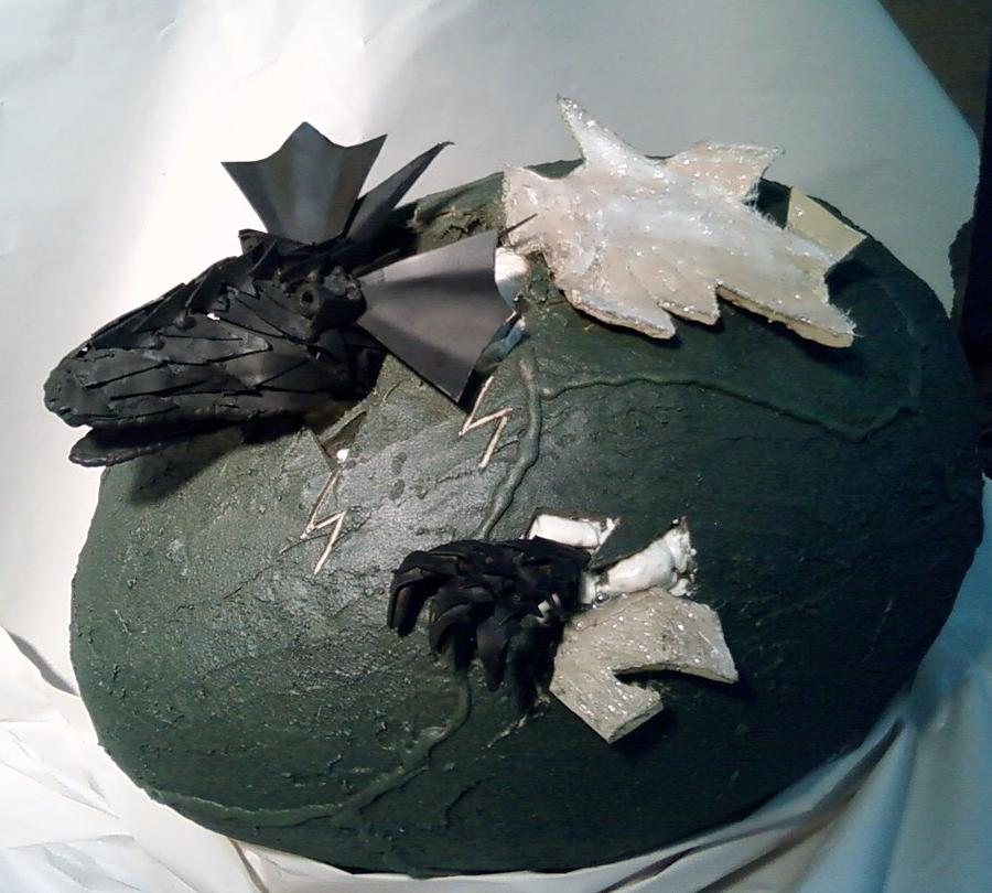 Dragon Mixed Media - Baby Dragon Hatching by Jeff Orebaugh