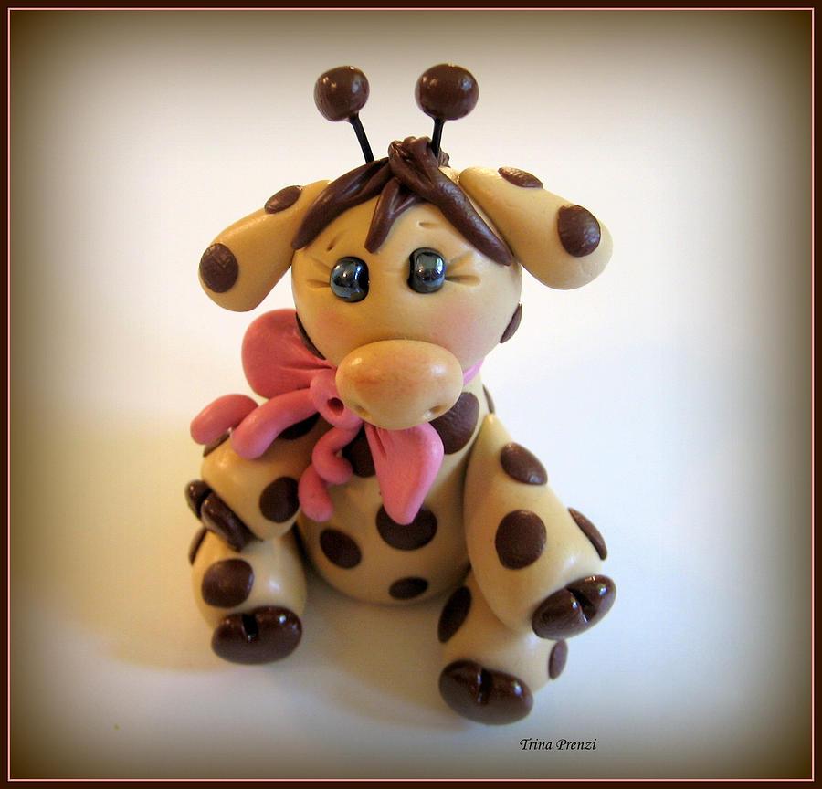 Giraffe Photograph - Baby Giraffe by Trina Prenzi