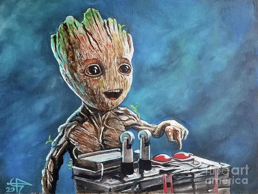 Baby Groot by Tom Carlton