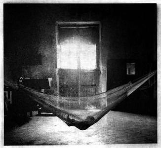 Photogravure Photograph - Baby In Hammock by Andrew Xenios