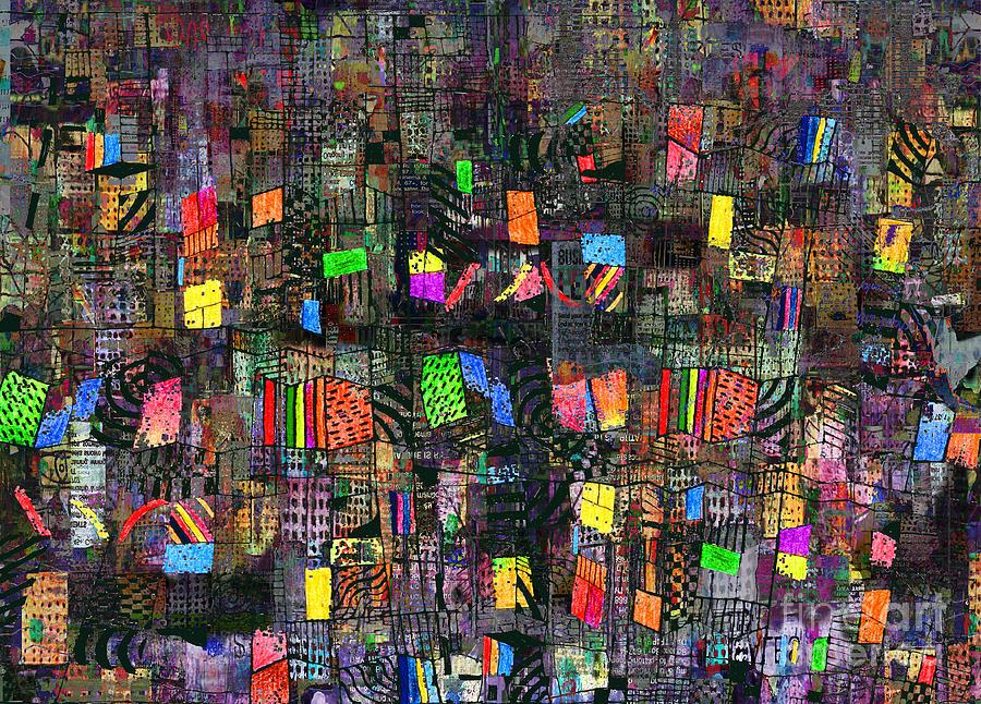 Babylon Digital Art - Babylon by Andy  Mercer