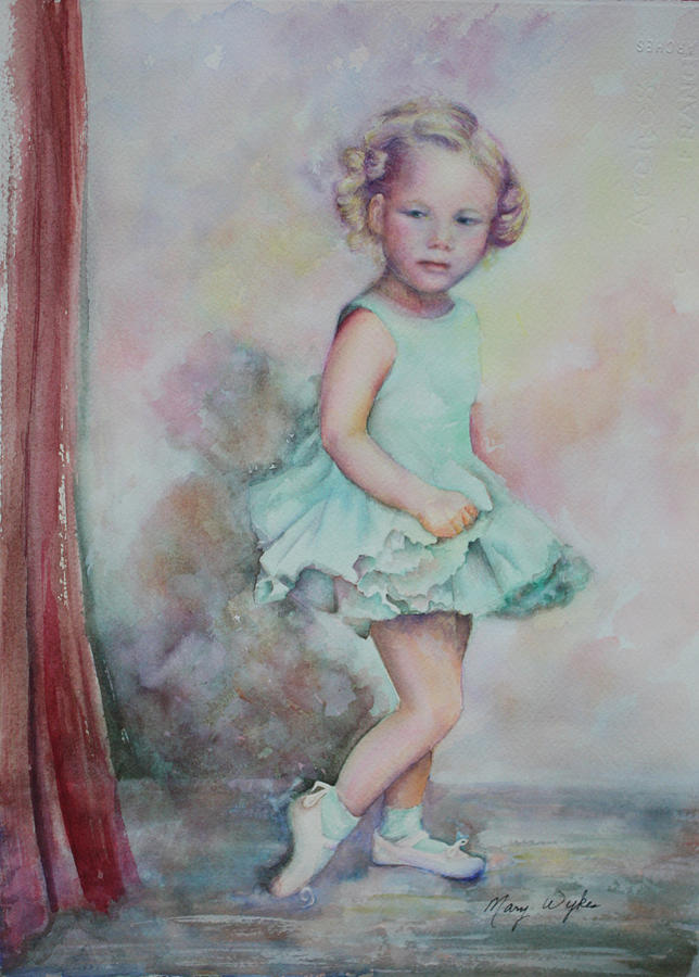 Impressionism Painting - Babys Debut by Mary Beglau Wykes