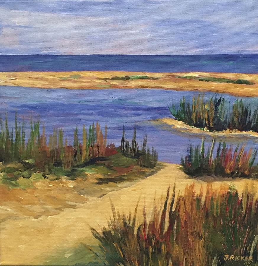 Back Bay Beach by Jane Ricker