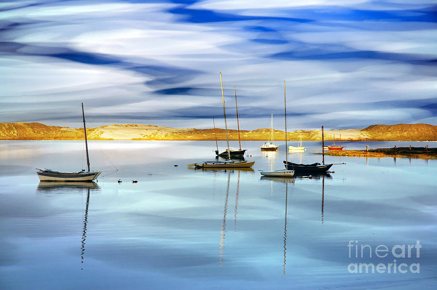 Morro Bay Photograph - Back Bay by Ronald Hoggard
