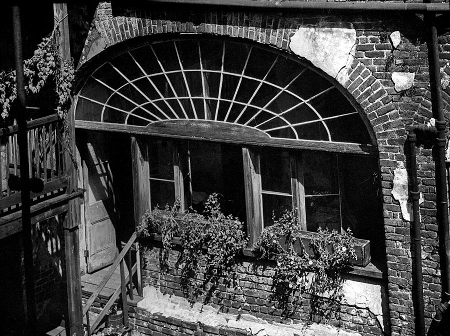 Architecture Photograph - Back Door by Crescent City Collective