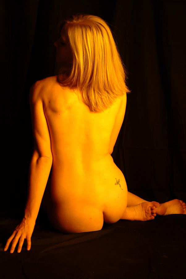 Nude Photograph - Back Form by T F McDonald