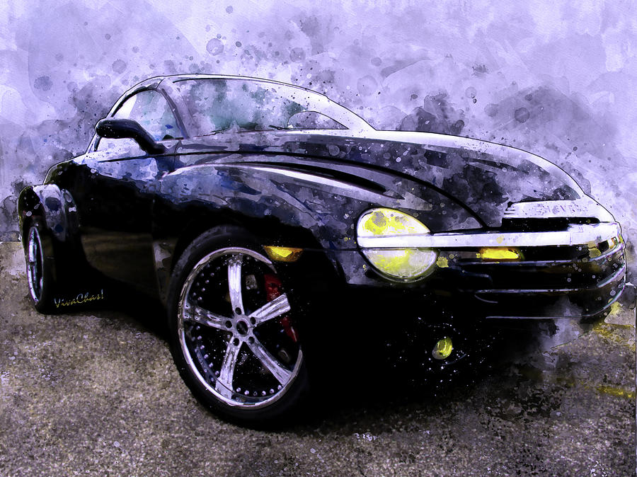 Chevy Ssr Back In The Ussr Posh Pickup Party Digital Art