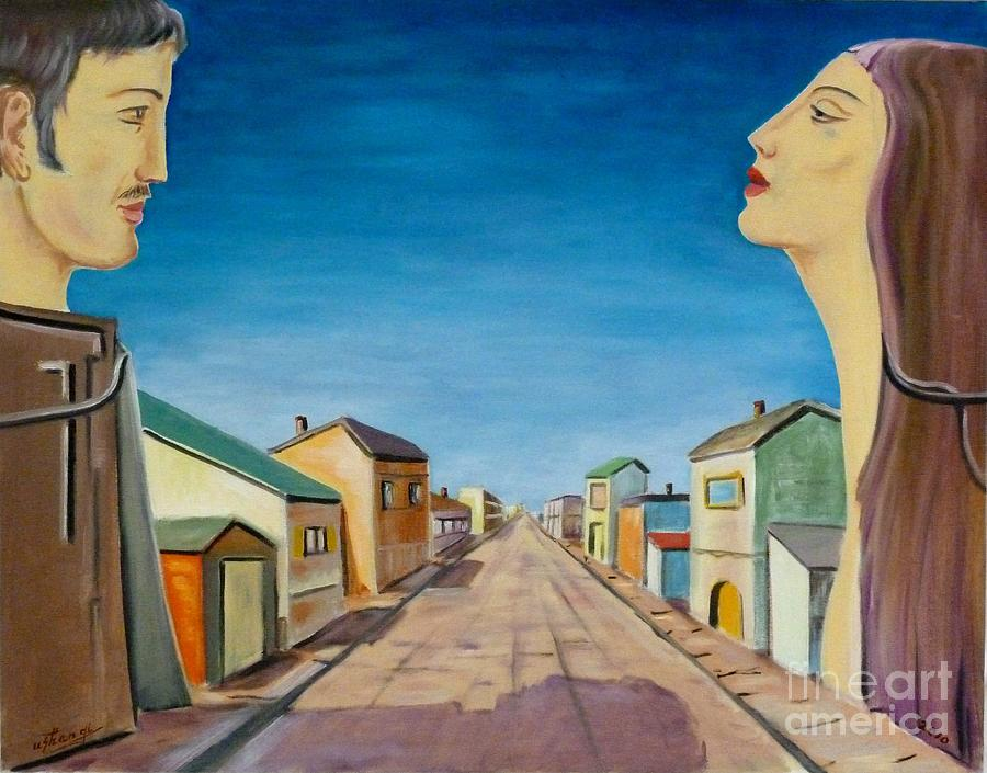 Back Lot by Ushangi Kumelashvili