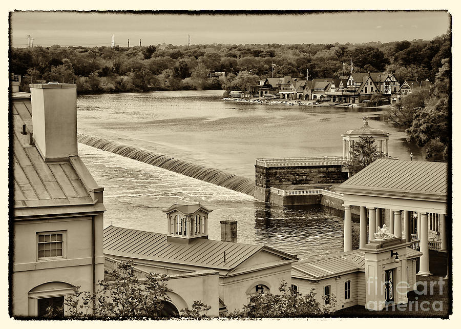 Philadelphia Photograph - Back Of Water Works by Jack Paolini