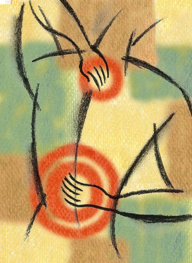 Back Pain Painting by Leon Zernitsky