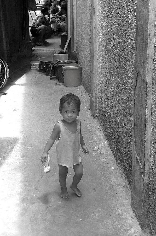 Photographer Photograph - Back Street Life 2 by Jez C Self
