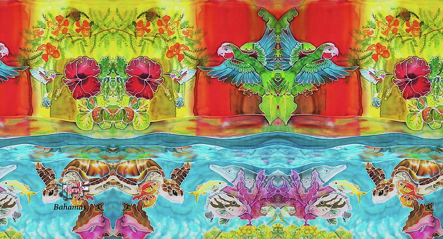 Bahamas Painting - Back To Eden Mug by Tiff