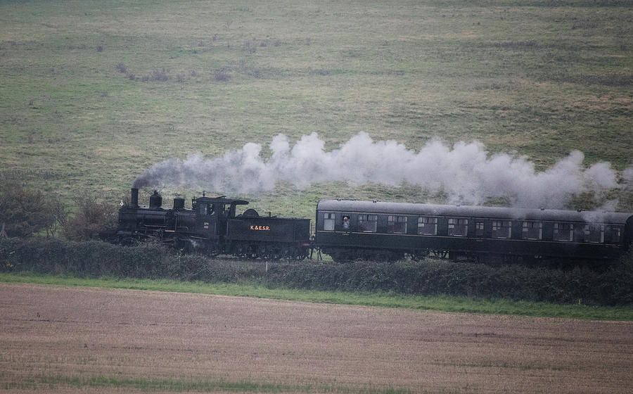 Steam Photograph - Back to the Steam Days by Martin Newman