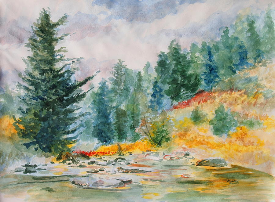 Landscape Painting - Afternoon in the Backcountry by Andrew Gillette