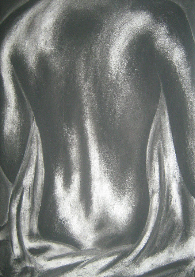 Nude Painting - Backdrop by Joseph James Lakey