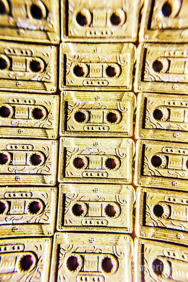 Cassette Photograph - Backtrack In Audio by Jorgo Photography - Wall Art Gallery