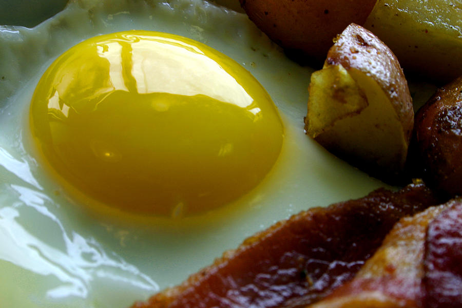 Bacon and Eggs by Rick Macomber