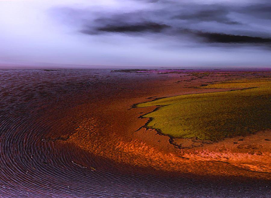 Landscapes Photograph - bacteria Mat by Dean Uhlinger