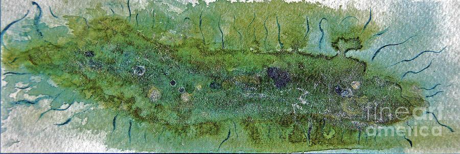 Bacteria Painting - Bacterium II by Kathryn Elliget
