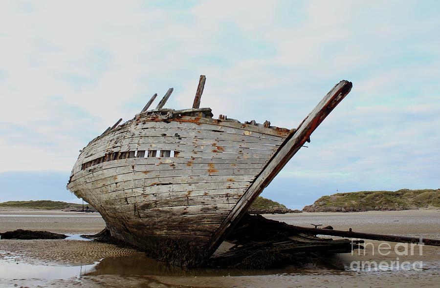 Bad Eddie's Boat Donegal Ireland by Eddie Barron