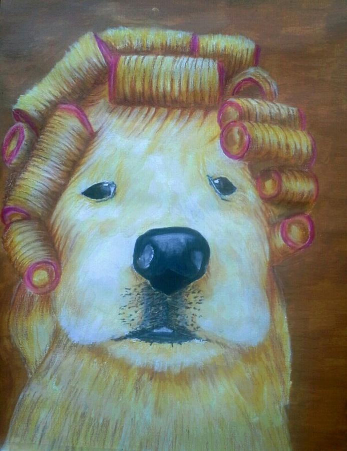 Bad Hair Day Painting by Alan Kennedy