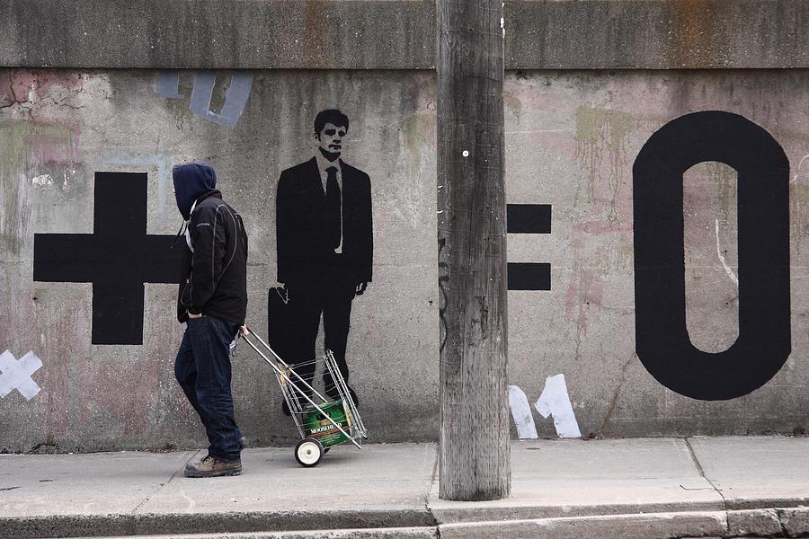 Harper Photograph - bad math II by Kreddible Trout