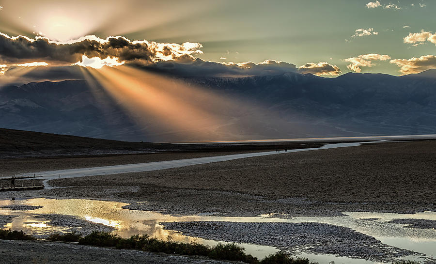Bad Water Basin Death Valley National Park by Michael Rogers