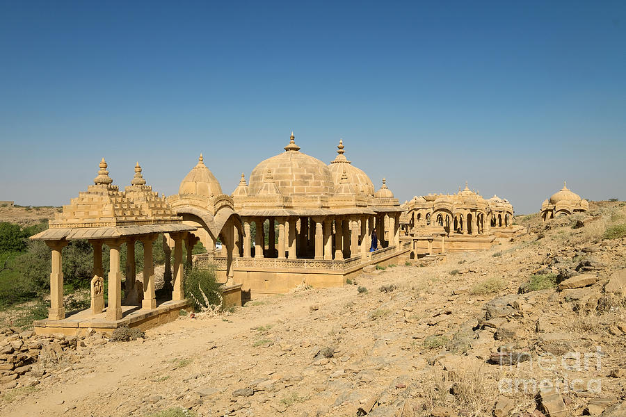 Bada Bagh of Jaisalmer by Yew Kwang