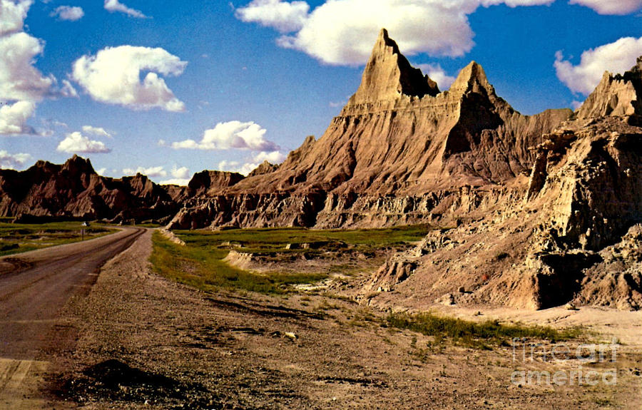 Badlands National Park  Photograph by Ruth  Housley