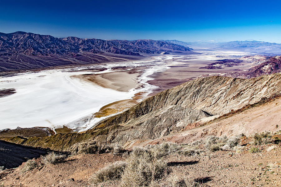 Badwater Basin by Jim Moss