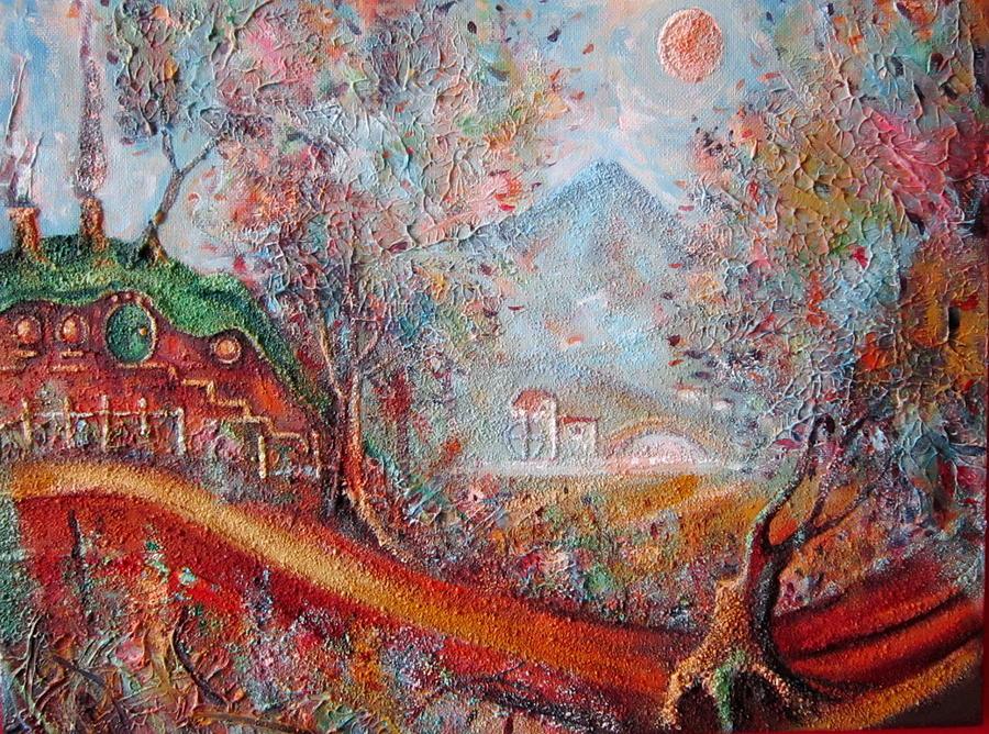 Tolkien Painting - Bag End  by Joe  Gilronan