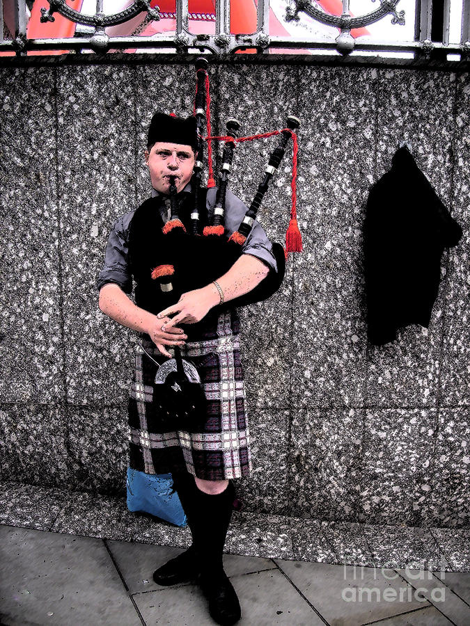 Bagpipe Photograph - Bagpipe by Janelle Dey