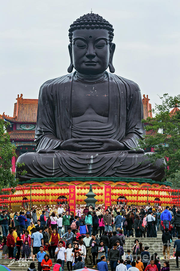 Baguashan Buddha Photograph by Jeffrey Stone