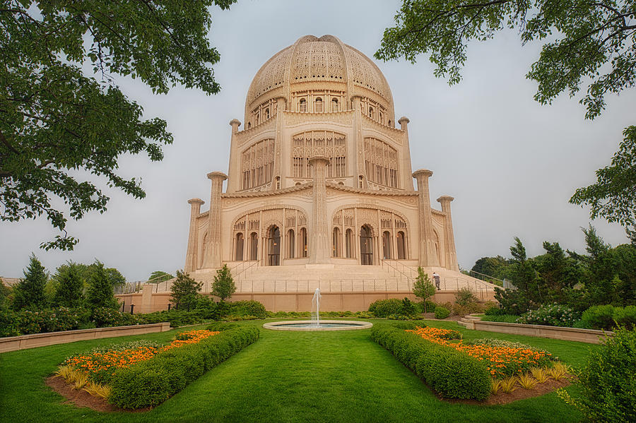 Baha'i Temple - Wilmette - Illinois by Photography  By Sai