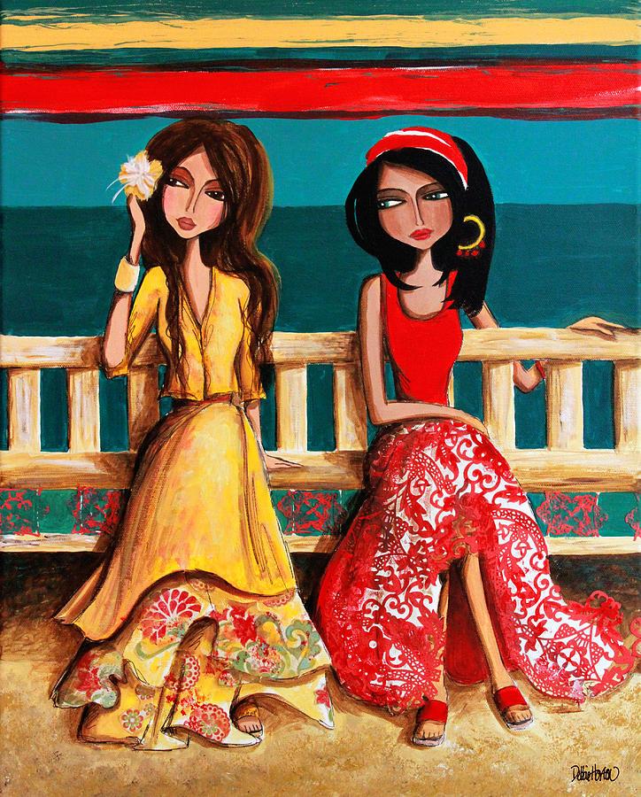 Bahama Painting - Bahama Breeze by Debbie Horton
