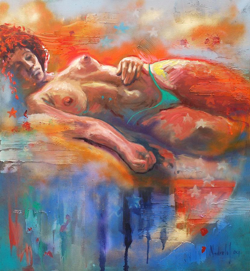 Female Painting - Bahia by Rick Nederlof