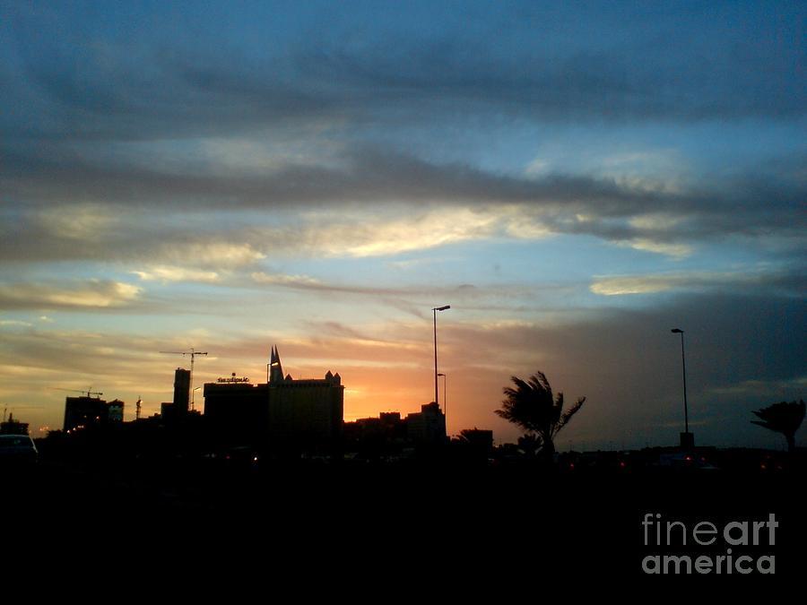 Bahrain Sunset Photograph by Sara Sami