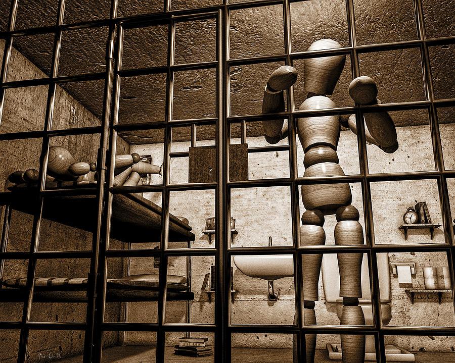 Bail Photograph - Bail Denied  by Bob Orsillo