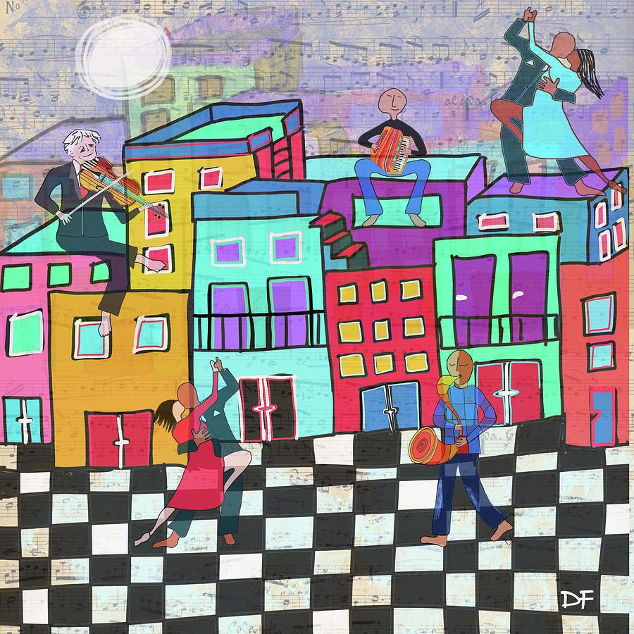 Bailando el Tango by Dora Ficher