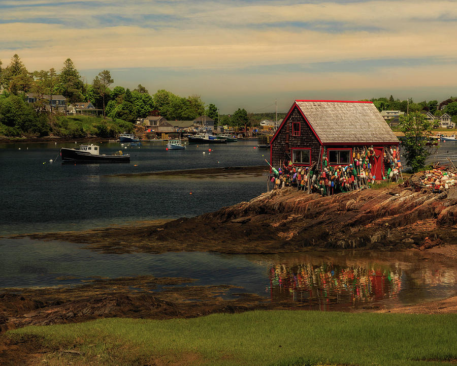 Bailey Island Lobster Shack by John Vose