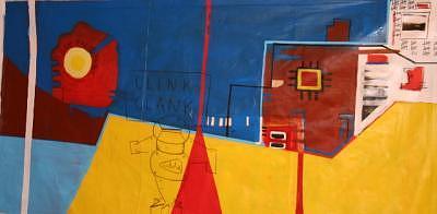 Bak Paco Paint Painting by Frank  Juarez