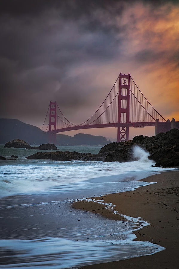 Arches Photograph - Bakers Beach by Edgars Erglis