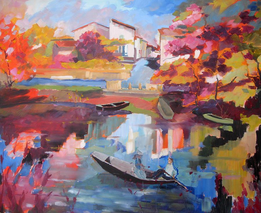 Balade Niortaise Painting